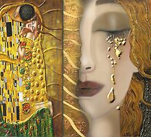My Klimt Serie:Gold by Müge Başak