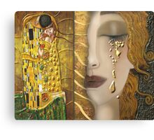 My Klimt Serie:Gold Canvas Print