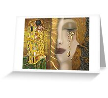 My Klimt Serie:Gold Greeting Card