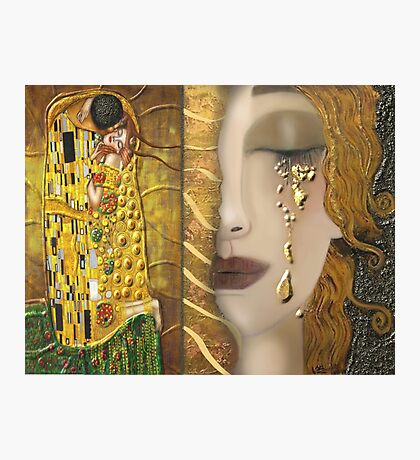 My Klimt Serie:Gold Photographic Print