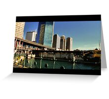 Circular Quay Indie scene Greeting Card