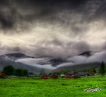 Dramatic Clouds by Svetlana Sewell