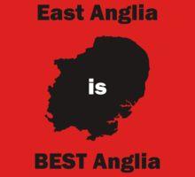 East Anglia is BEST Anglia Kids Tee