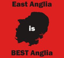East Anglia is BEST Anglia Baby Tee