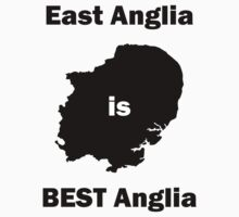 East Anglia is BEST Anglia Kids Tee