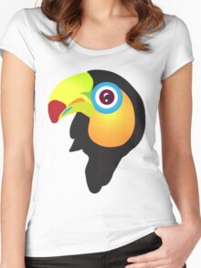 Tucan baby Women's Fitted Scoop T-Shirt