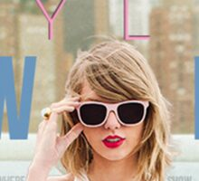 Taylor Swift 1989 World Tour Design Sticker