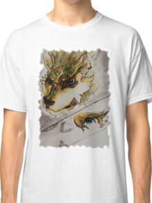 The Twilight Wolf (Faded) Classic T-Shirt