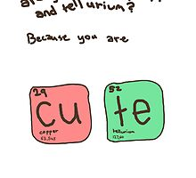 Copper and tellurium by Edie Johnston