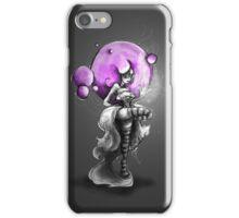 Rainbow Punk: Psychedelic Purple iPhone Case/Skin
