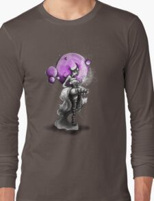Rainbow Punk: Psychedelic Purple Long Sleeve T-Shirt