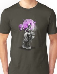 Rainbow Punk: Psychedelic Purple Unisex T-Shirt
