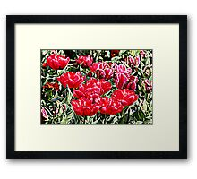 Floriade Bunch Framed Print