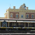 &#x27;Junee&#x27; Railway Station. Architecture, country town, N.S.W.  by Rita Blom