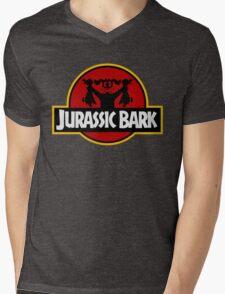 Clever Dog (Jurassic Park X Duck Hunt) Mens V-Neck T-Shirt