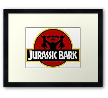 Clever Dog (Jurassic Park X Duck Hunt) Framed Print