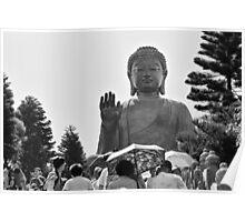 Big Buddha Statue Poster