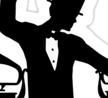 Let's Party Like It's... 1923! ...Vulcan Style! Sticker