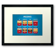 Preserves Framed Print