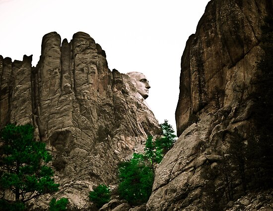 Mount Rushmore National Memorial by David Owens