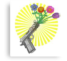 Choose Love over Gun Violence Canvas Print