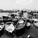 Cheung Chau Boats by RickyMoorePhoto