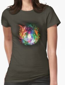 Flower Womens Fitted T-Shirt