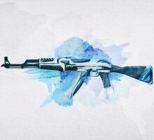 CS:GO AK-47 Vulcan by LexyLady