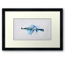 CS:GO AK-47 Vulcan Framed Print