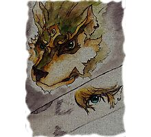 The Twilight Wolf  2 Photographic Print