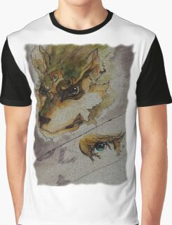 The Twilight Wolf  2 Graphic T-Shirt
