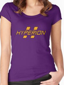 Hyperion Heroism (Without Text) Women's Fitted Scoop T-Shirt