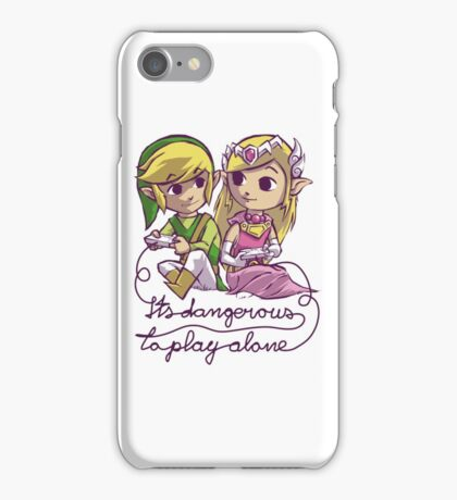 It's dangerous to play alone iPhone Case/Skin