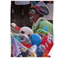 Clowns And Toys - Payasos Y Juguetes Poster