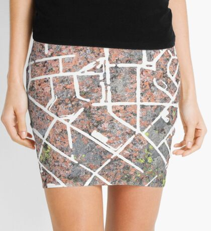 Granite Rocks Mini Skirt