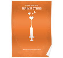 No152 My TRAINSPOTTING minimal movie poster Poster