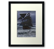 Endeavour at Sea Framed Print