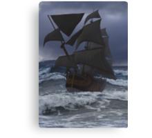 Endeavour at Sea Canvas Print