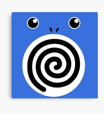 Poliwhirl Canvas Print