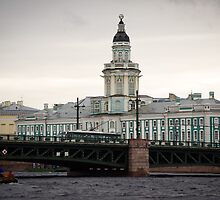 St Petersburg - Admiralty Building by Derek  Rogers