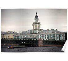 St Petersburg - Admiralty Building Poster