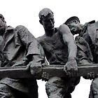 St Petersburg - Siege of Leningrad Memorial by Derek  Rogers