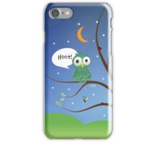 hoot! iPhone Case/Skin