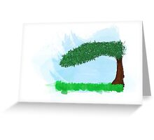 Landscape of calm Greeting Card