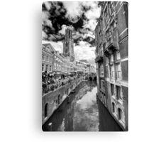 Utrecht BW Canvas Print