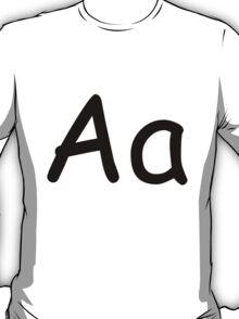 Aa - Comic Sans MS T-Shirt