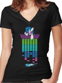 MLP - Oops, dropped it Women's Fitted V-Neck T-Shirt