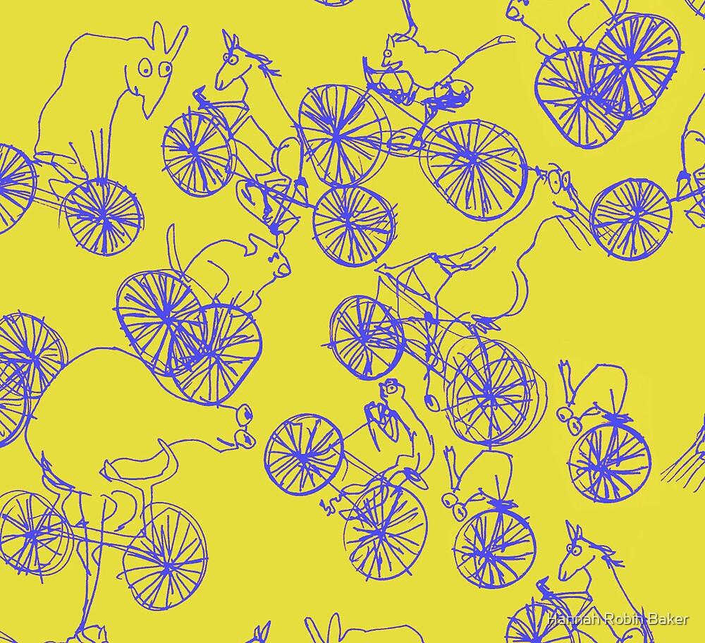 Bikey Likey - Yellow 2 by Hannah Baker - Jamface