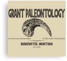 Grant Paleontology Canvas Print
