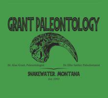 Grant Paleontology Kids Clothes